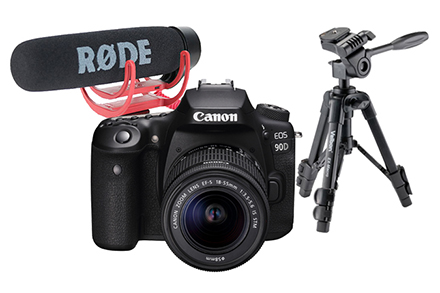 EOS 90D Vlogging Kit
