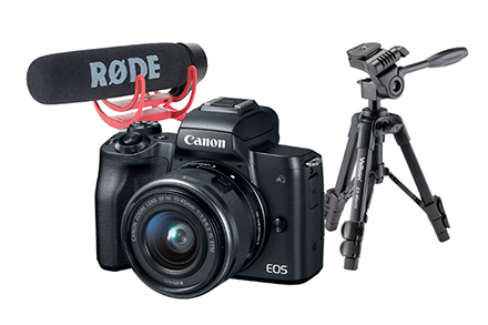 EOS M50 Vlogging Kit