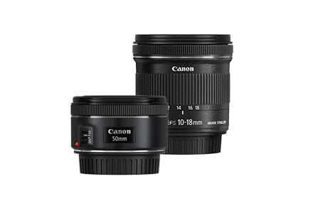 Kit #MustHaves - EF 50mm f/1.8 STM y EF-S 10-18mm f/4.5