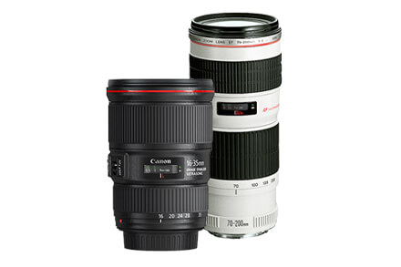 Kit #Paisaje EF 16-35mm f/4L IS y EF 70-200mm F/4L