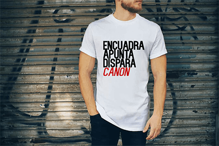 Graphic T-Shirt de cámaras talla 18