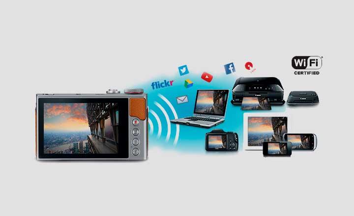Tecnología Wi-Fi® integrada